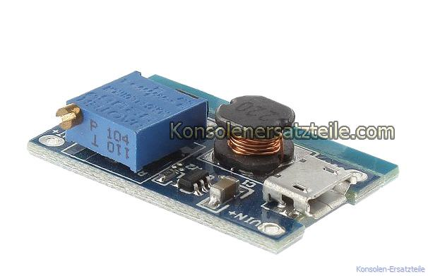TP4056, 2A DC-DC boost converter, einstellbar DC-DC Spannungsregler, regelbarer Step Up Boost Schaltwandler, Eingang 2 - 24Volt - Out 3V-26V 2A DC, Mini Schaltregler, Spannungswandler, wandelt kleinere Eingangsspannungen hoch. Spannungsregler, Spannungswandler, Schaltreglermodul, Step Up Converter, Mini DC-DC Schaltregler DC-DC Spannungswandler, Schaltwandler hoher Effizienz, DC-DC Schaltreglermodul, power supply, Gleichspannungswandler, Boost Switch Power Supply Modul