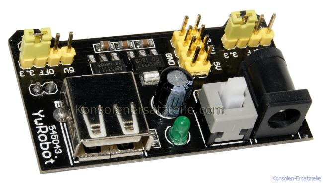 USB Arduino Power supply, MB102 Power Supply