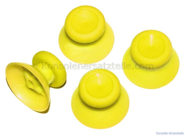 XBOX One Thumb Sticks Gelb, XBOX One Sticks gelb, XBOX One Controller Sticks austauschen, Sticks XBOX One, XBOX One Controller Analogstick, XBOX One Controller Kappen, XBOX One Thumbsticks, XBOX One Joysticks, XBOX One Thumbstick, XBOX One Joystick, Ersatz für abgenutzte Analog-Sticks des XBOX-ONE-Controllers, XBOX One Analog Controller Sticks gelb