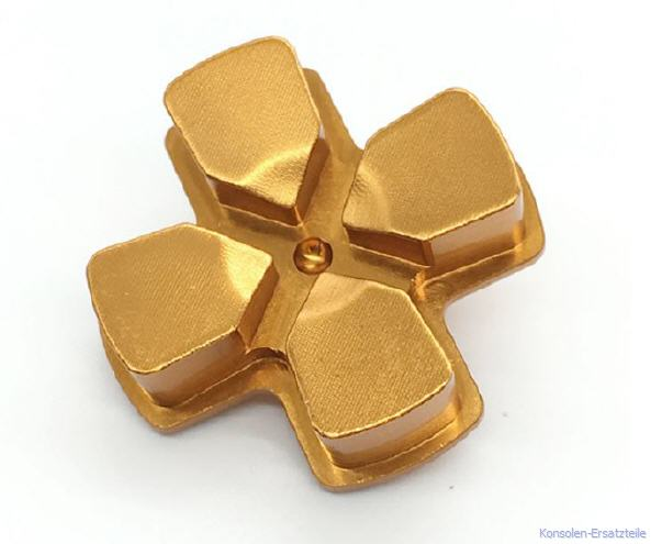 golden, gold, PS4 Controller Button Metall Steuerkreuz d-pad, ps4-controller-button-metall-steuerkreuz-d-pad