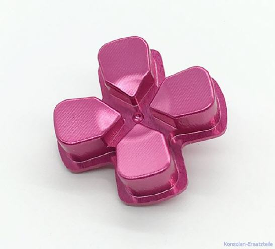 pink, rosa, PS4 Controller Button Metall Steuerkreuz d-pad, ps4-controller-button-metall-steuerkreuz-d-pad